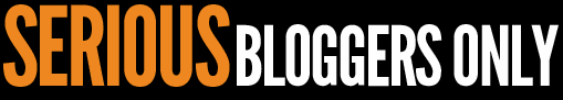 Serious Bloggers Only – A seriously Good Program!